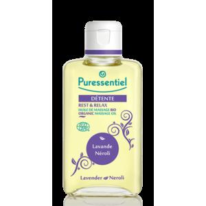 Puressentiel Détente huile de soin et de massage Bio-0