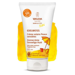 Weleda Edelweiss Crème solaire sensitive Baby   Kids Protection 50 2b76130fa15