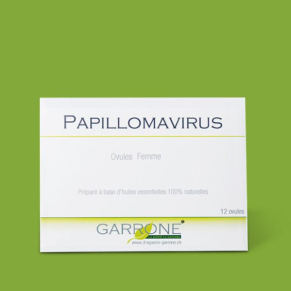 Papillomavirus traitement ovule